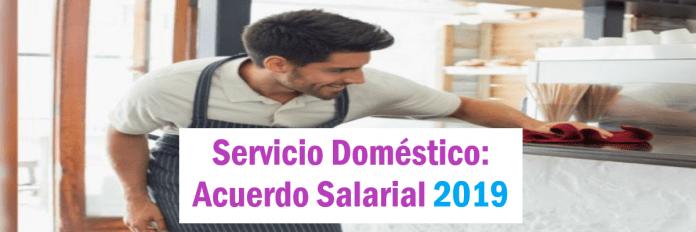paritaria 2019 servicio domestico