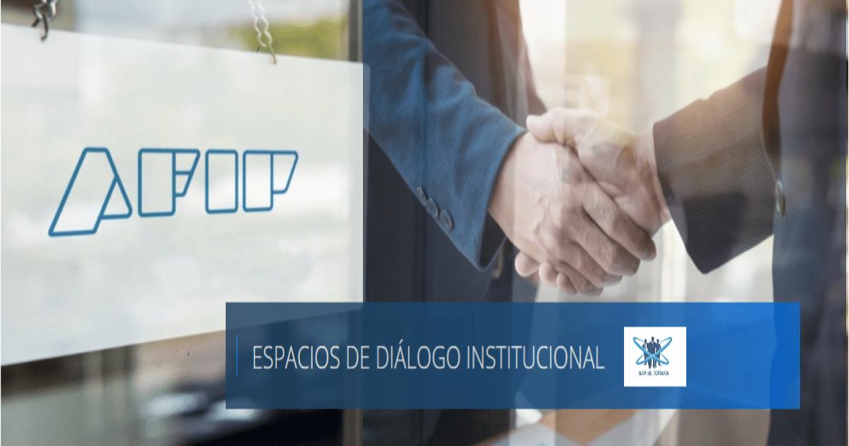acta espacio diálogo institucional afip