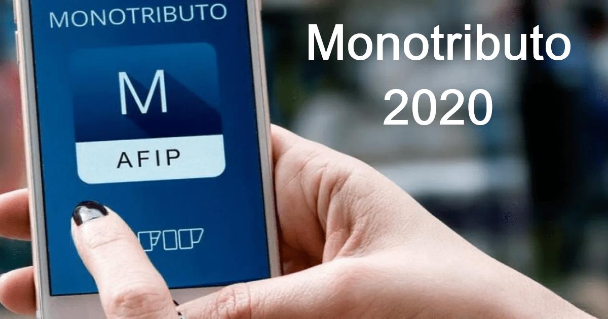 rg 4724 afip, aumentan topes categorias y cuotas monotributo 2020
