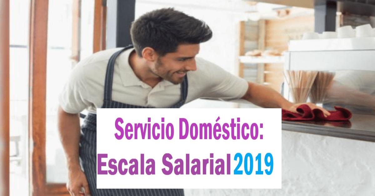 escala salarial personal domestico