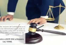Quitar término: R C E y otro c/AFIP-DGI s/Amparo Ley 16986 R C E y otro c/AFIP-DGI s/Amparo Ley 16986