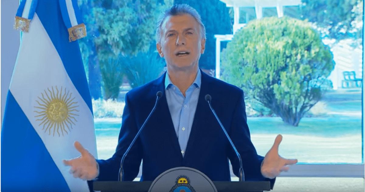 macri anuncios materia impositiva moratoria pymes decreto alivio impositivo