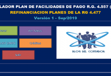 simulador para refinanciar planes vigentes a 120 cuotas