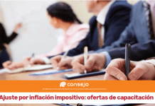 capacitaciones ajuste por inflacion impositivo