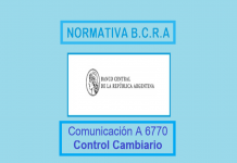 comunicacion 6770 bcra