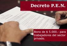 decreto 665 bono 5000