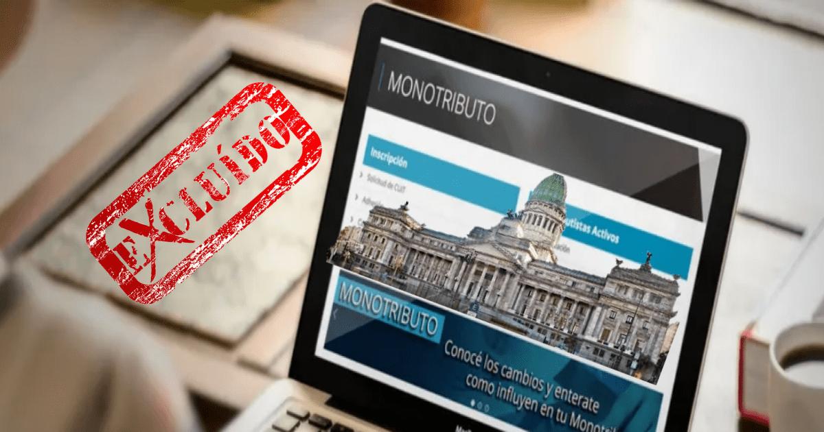 rg (afip) 4738, vuelven las exclusiones del monotributo, recategorizacion, proyecto de ley para derogar exclusiones del monotributo