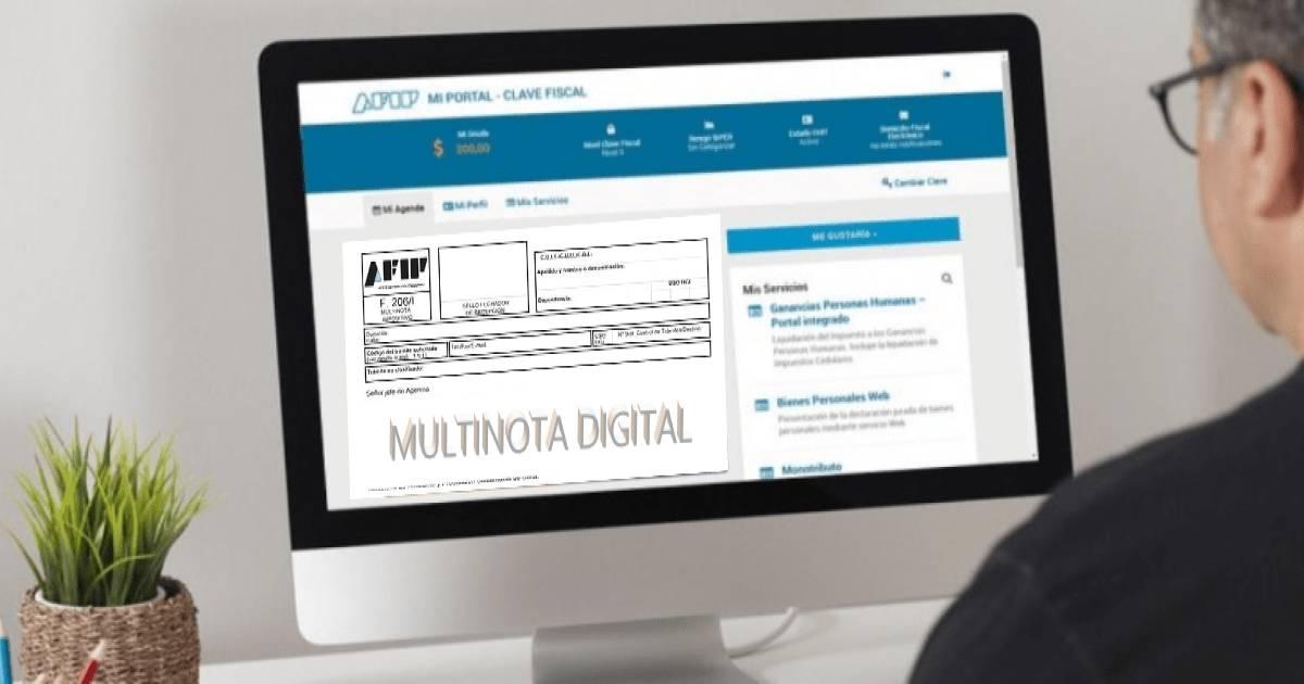 trámites digitales, afip incorporo nuevos tramites multinota digital, Monotributo recategorización Monotributo categorias AFIP trámite digital categoría
