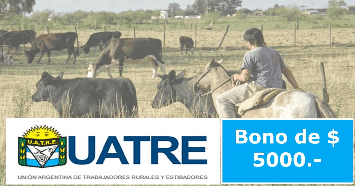 bono de $5000 para trabajadores rurales