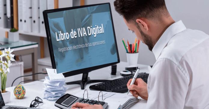 como se deberá presentar el libro de iva digital