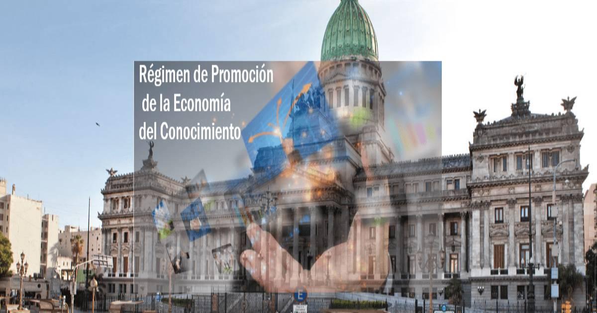 decreto 708 regimen promocion economia del conocimiento