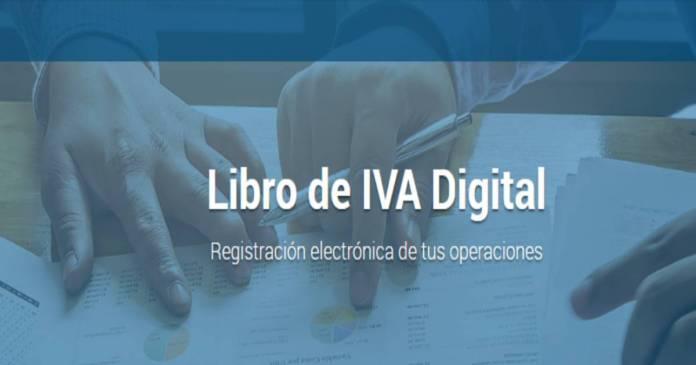 diseños de registros, Libro de iva digital