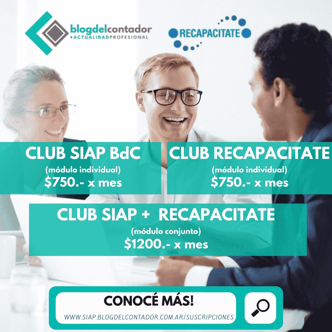 CLUB SIAP