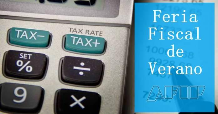 afip feria fiscal