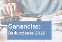 ganancias actualizacion 2020