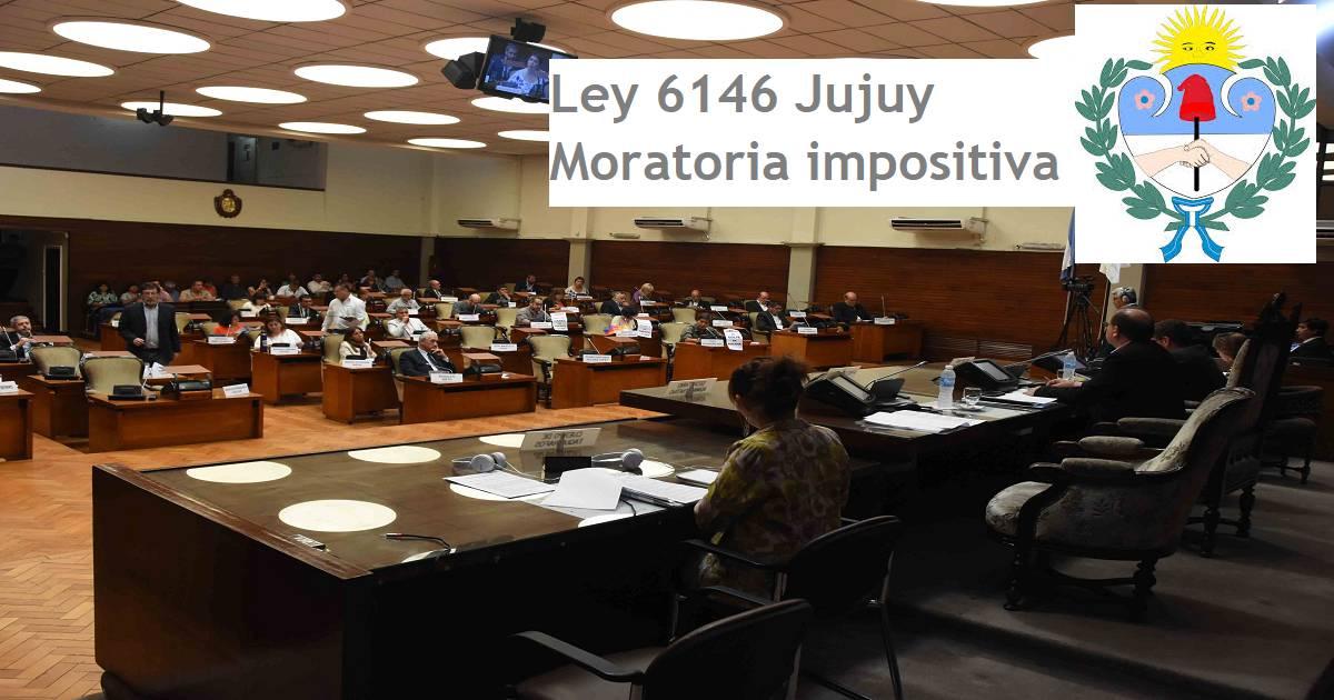 ley 6146 jujuy moratoria