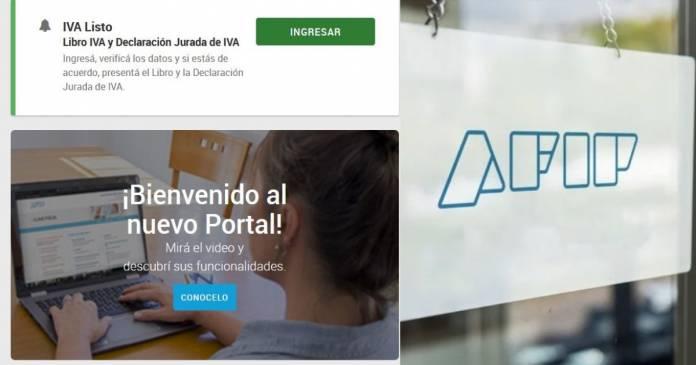 prórroga libro de iva digital, como funciona portal iva paso a paso libro de iva digital
