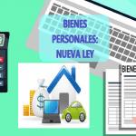 fondos repatriados, cambios bienes personales y renta financiera 2019, Bienes Personales 2019