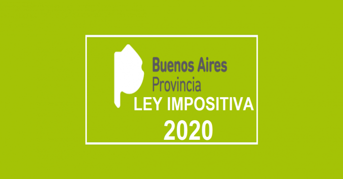 ley 15170 ley impositiva 2020 buenos aires