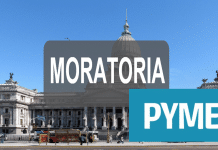 certificado pyme, moratoria pymes