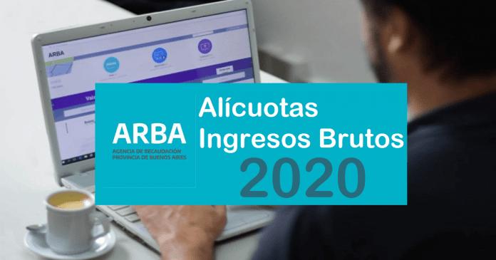 alicuotas 2020 arba