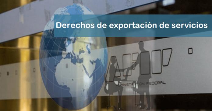 decreto 549/20, derechos de exportación de servicios