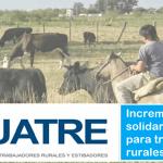 resolución 1/20 cnta, incremento solidario para trabajadores rurales
