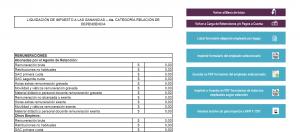 planilla f1357 importar txt