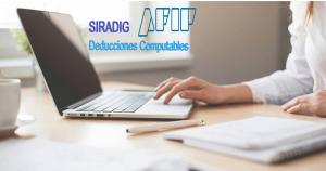 siradig con las deducciones 2019, siradig y formulario 1357