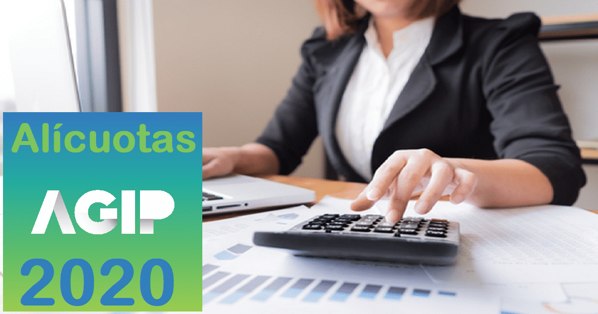 alicuotas ingresos brutos agip 2020