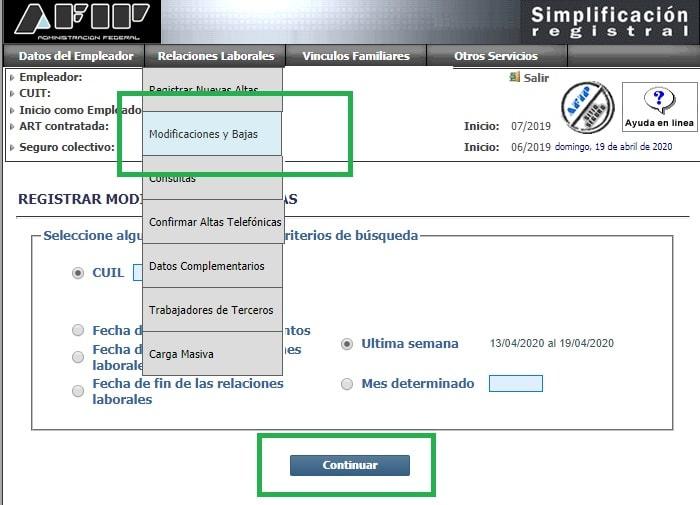carga cct simplificacion registral 1