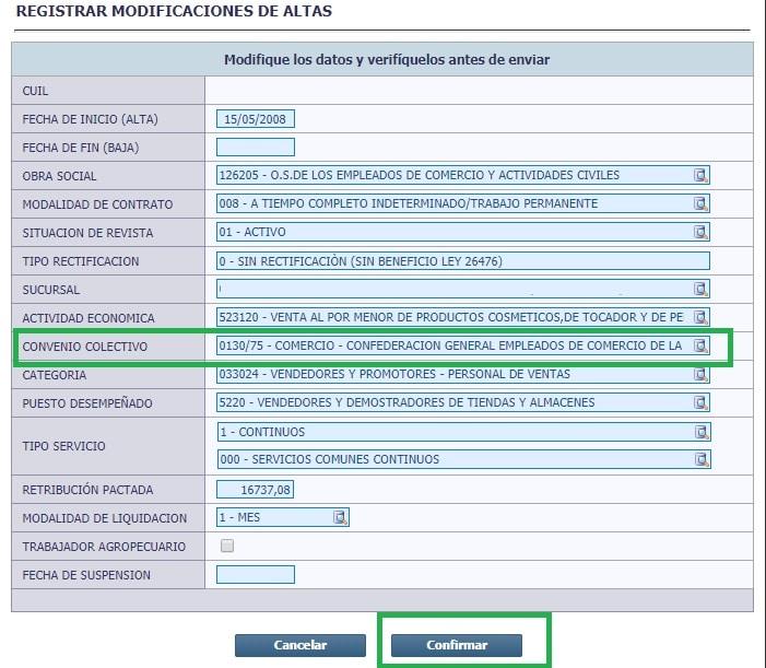 carga cct simplificacion registral 4