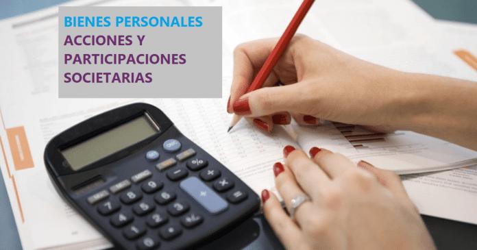 bienes personales acciones participacionesSin Prórroga Vence Desde Hoy el Impuesto sobre los Bienes Personales Acciones y Participaciones Societarias