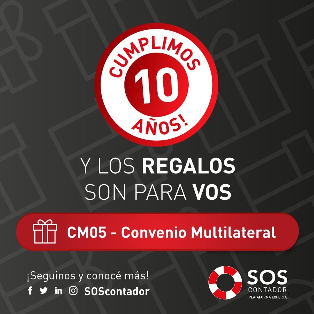 Nueva herramienta que facilita la tarea del contador: SOS Automatiza la presentación del CM05