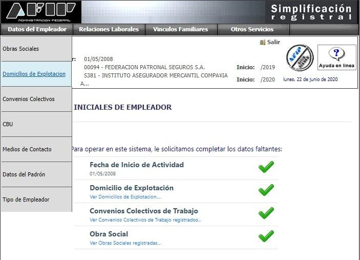 simplificacion registral domicilios de explotacion