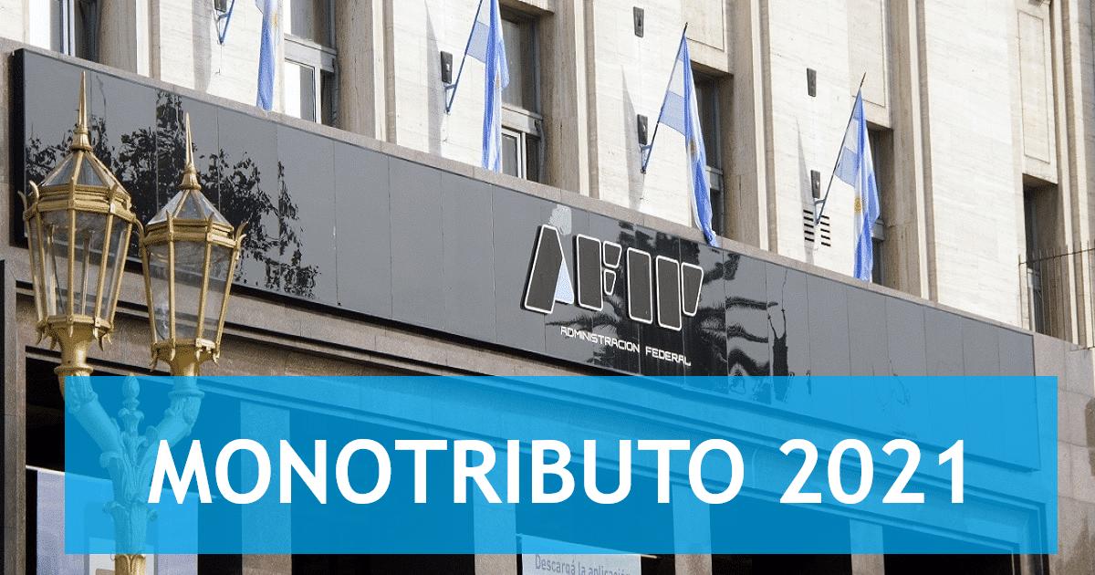 recategorización de monotributistas , monotributo2021