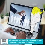 Régimen de promoción de generación de empleo en el norte grande