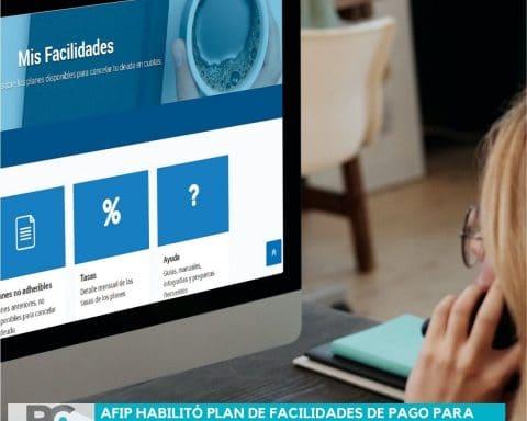 AFIP habilitó plan de facilidades de pago para cancelar deudas de ganancias y bienes personales