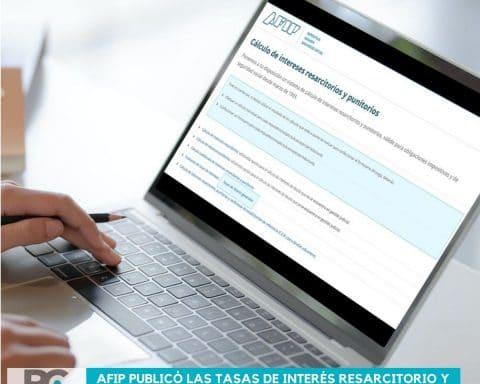 AFIP publicó las tasas de interés resarcitorio y punitorio vigentes para el trimestre abril-junio 2021