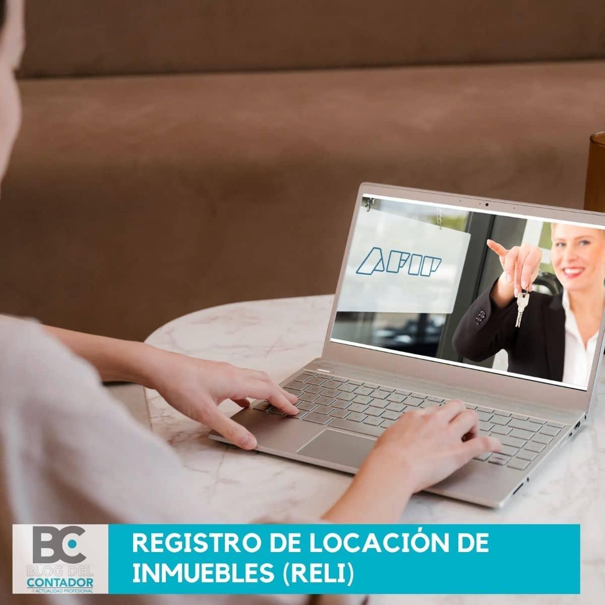 Registro de locación de inmuebles (RELI)