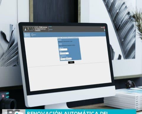 Renovación automática del Certificado MiPyME