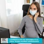 compensación no remunerativa para trabajadores dispensados
