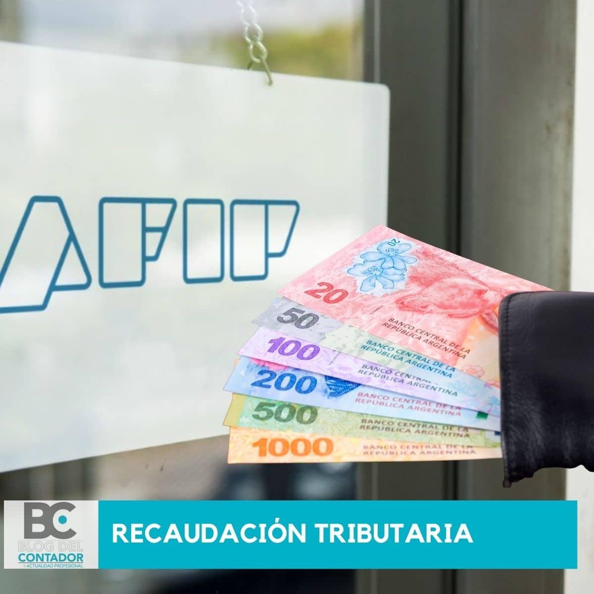 recaudación tributaria