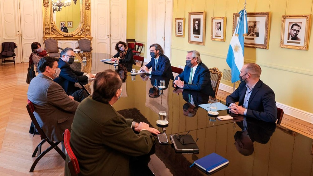 reunion gabinete economico nuevos créditos a tasa cero