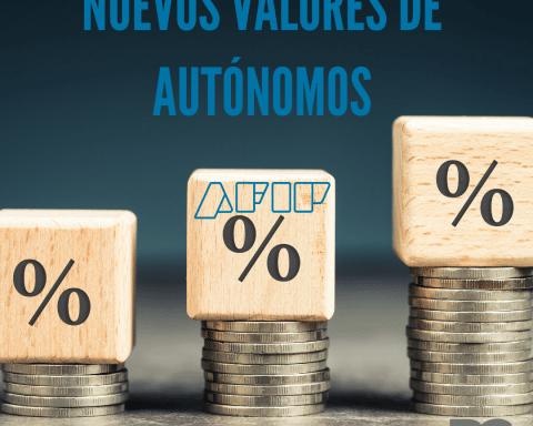 Nuevos valores de autónomos desde septiembre 2021