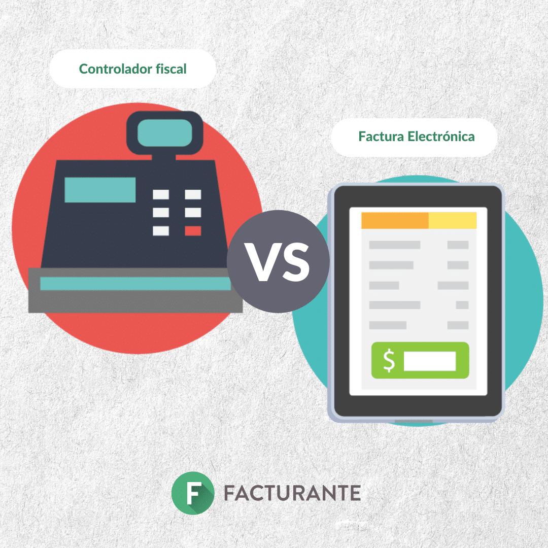 controlador vs fact electronica